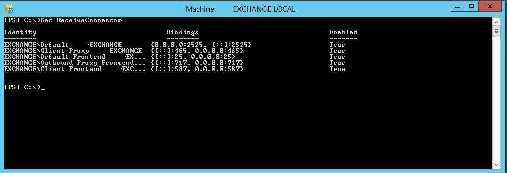 Exchange Server 2013 SMTP Banner Değiştirme İşlemi