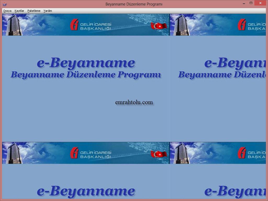 Windows 7 64 Bit E-Beyanname Çalıştırma