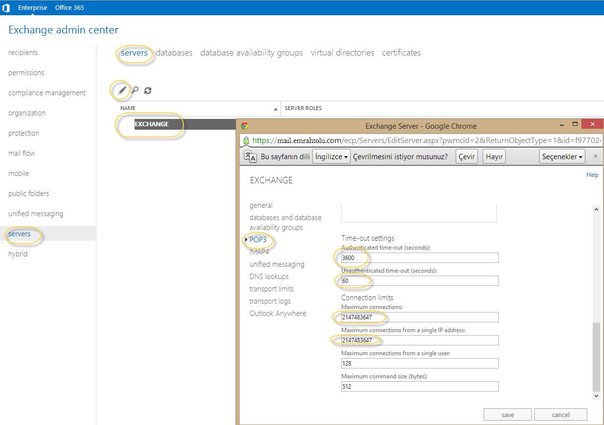 POp3 time out settings (pop3 zaman aşımı ayarları ve maillerin birden fazla gelmesi)