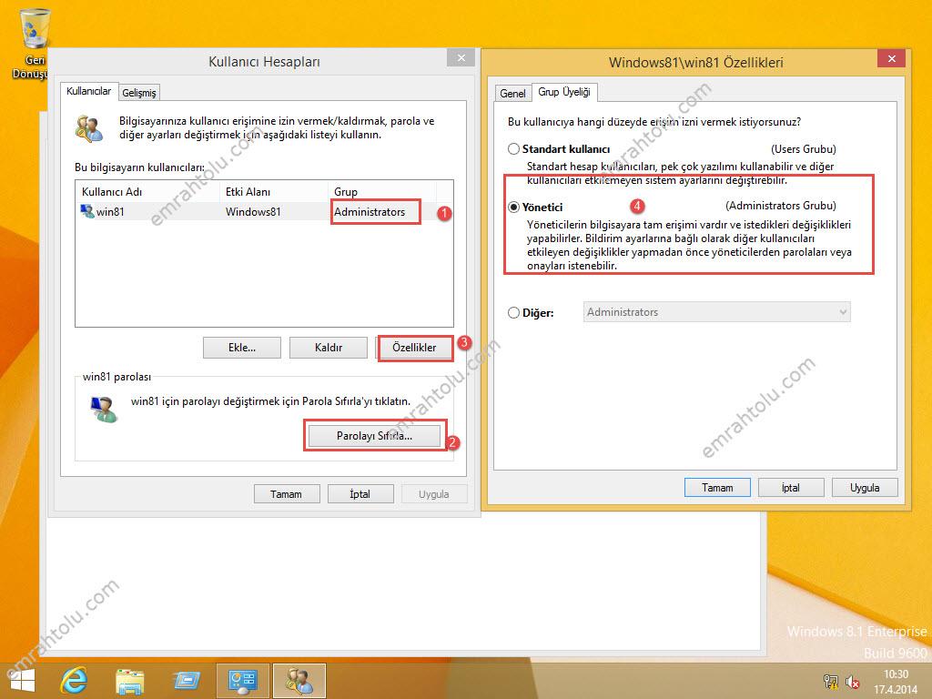 Windows 8.1 work folder 0x80c80334 hatası