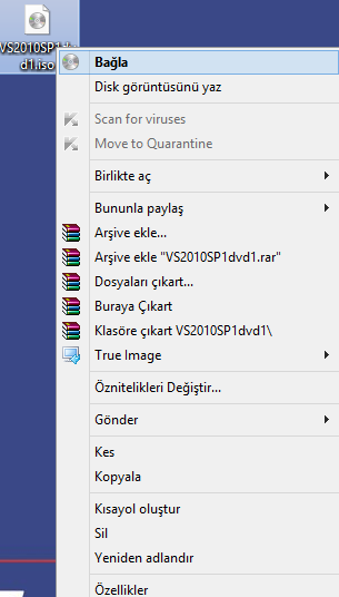 Windows 8 bağla seçeneğinin aktif edilmesi
