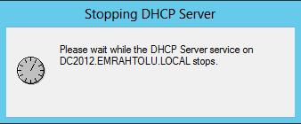 Windows Server 2012 DHCP Database Yedekleme ve Geri yükleme