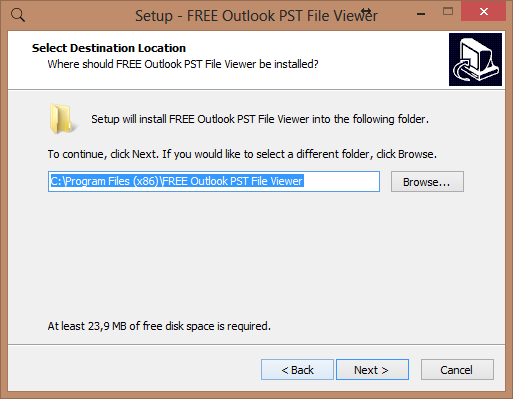 outlook pst viewer4