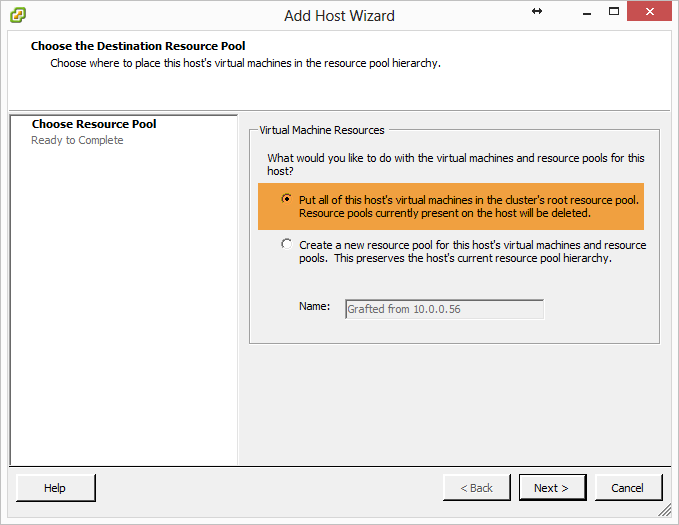 vmware HA failover cluster20
